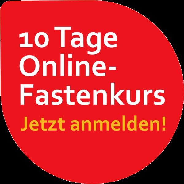 10 Tage Online-Fastenkurs. Jetzt Anmelden